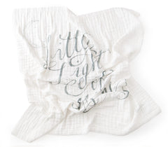 'Little Light' 4-Layer Organic Cotton Happy Cloud Luxury Blanket