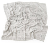'Better Together' 4-Layer Organic Cotton Happy Cloud Luxury Blanket
