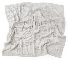 Better Together 4-Layer Organic Cotton Happy Cloud Luxury Blanket
