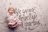 Life Grows Lovely Organic Swaddle Scarf™ - CovetedThings
