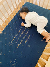Load image into Gallery viewer, Golden Star Crib Sheet - CovetedThings
