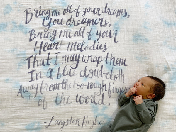 Langston Hughes Organic Swaddle Scarf™ - CovetedThings