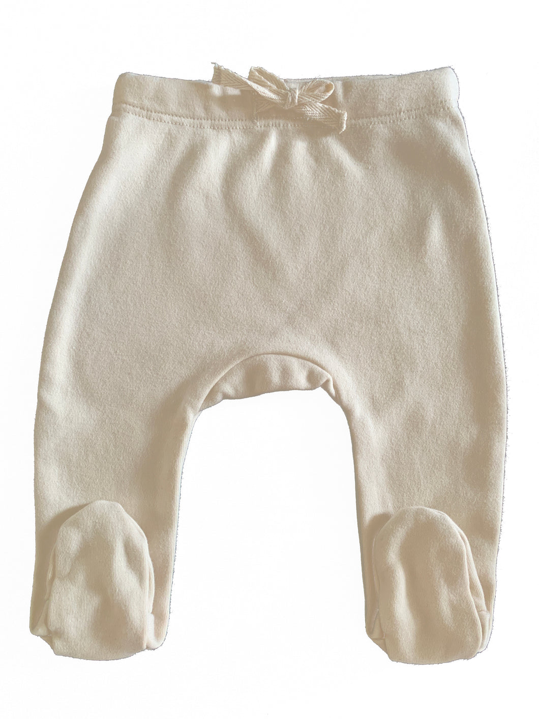 Organic Cotton Footed Pants in Dove - CovetedThings