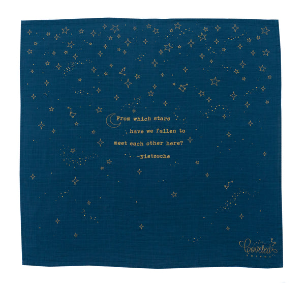 Golden Stars Organic Swaddle Scarf™