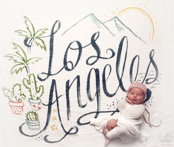 Los Angeles Organic Swaddle Scarf™ - CovetedThings
