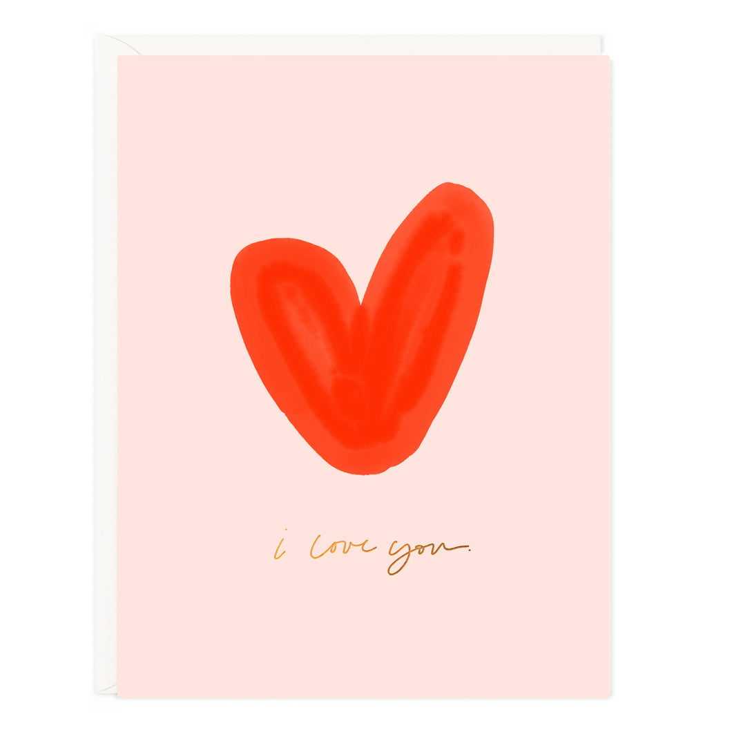 I Love You Heart Card - CovetedThings
