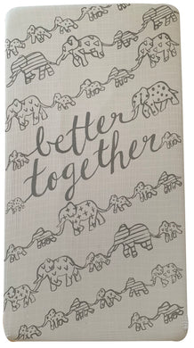 Better Together Crib Sheet - CovetedThings