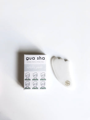 White Jade Gua Sha | Natural Healing Tool - CovetedThings