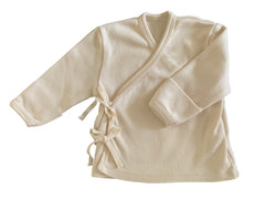 Organic Cotton Kimono Top in Dove - CovetedThings