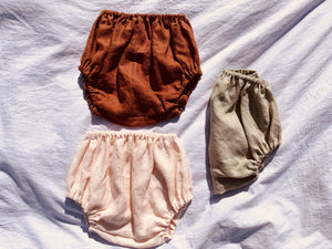 Linen Bubble Bloomers
