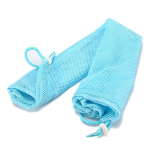 Mesh Cat Bathing Bag Cats Grooming Washing Bags Cat Bath Clean Bag No Scratching Bite Restraint Cat Supplies Nail Cutting YT0015