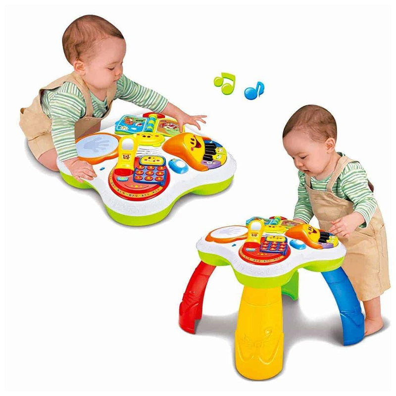 Masuta Activitati Bebe Interactiva 2 in 1 Fun Learning Table COD: 91102E