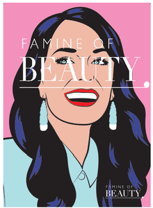 Jacinda Ardern Poster – Cindylicious – A3 – Approx 297mm x 420mm – 200gsm
