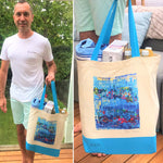 Load image into Gallery viewer, A Happy Sea - Tote Bag