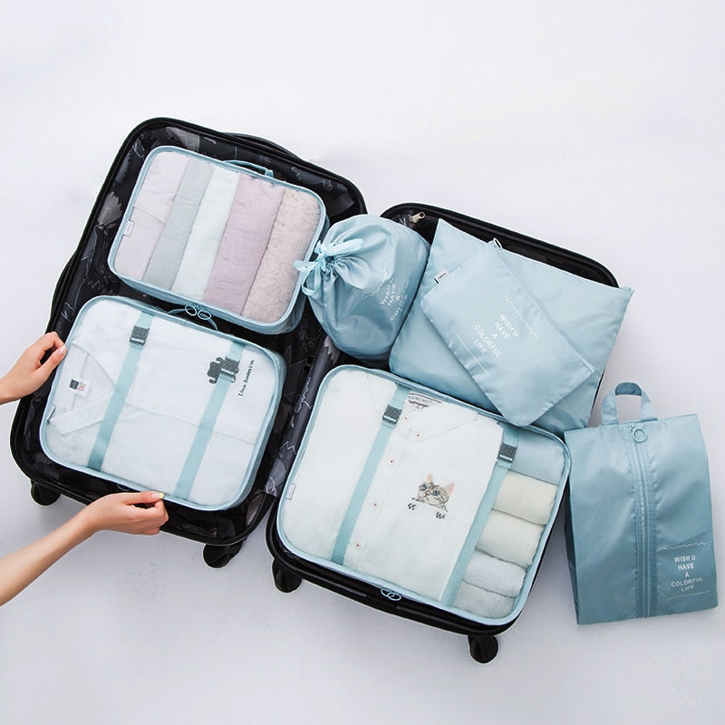 7 Piece Packing Cubes