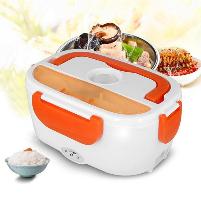 Electric Lunch Box w/Spoon
