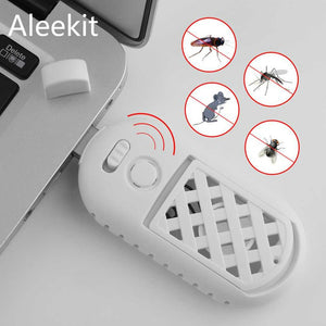 Portable USB Ultrasonic Pest Rejector