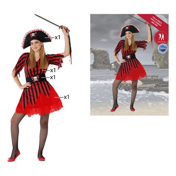 Costume for Children 116207 Pirate (Size 14-16 years)