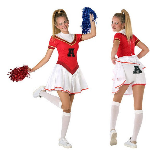 Costume for Children 116283 Entertainer Red White (Size 14-16 years)