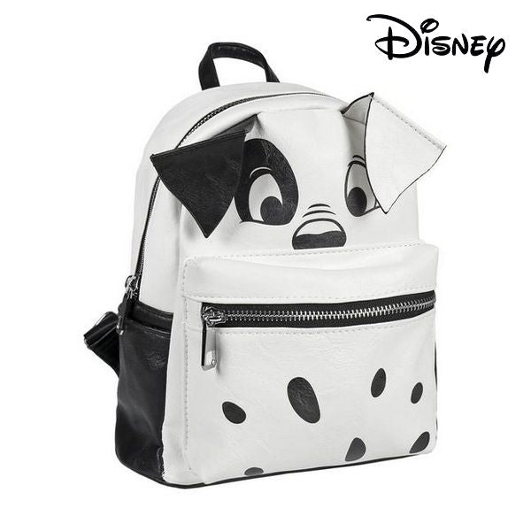 Casual Backpack Disney 75605 White