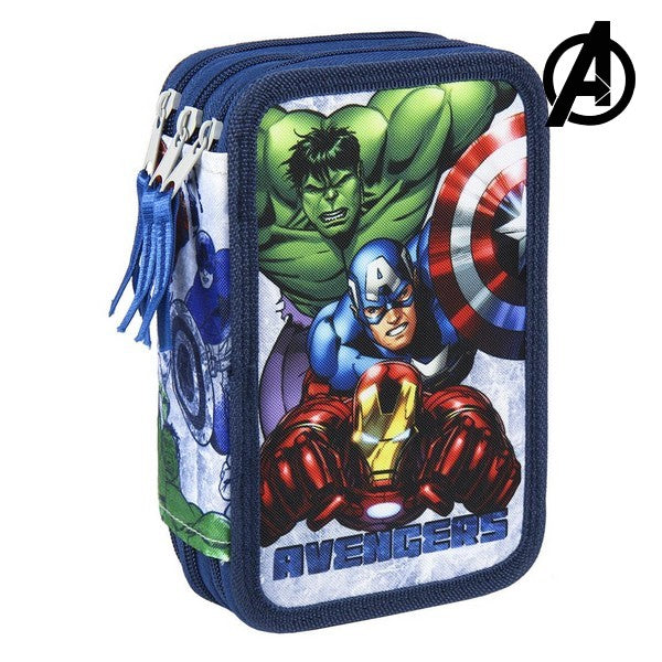 Triple Pencil Case The Avengers 78773
