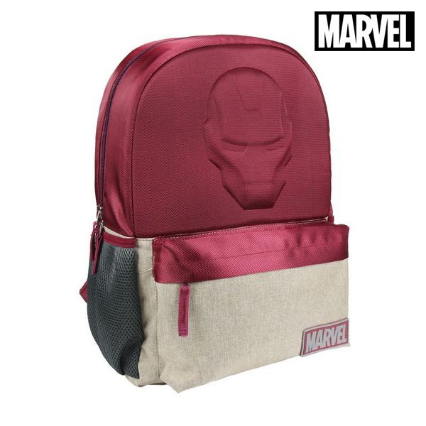 School Bag Ironman The Avengers Maroon