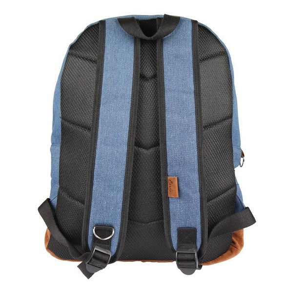 Casual Backpack Denim Patch