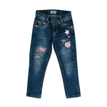 Salt and Pepper Mädchen Jeans Stay Cool Pailetten 05120232