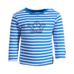 SALT AND PEPPER Baby - Jungen Sweatshirt Longsleeve Ahoy stripes Stick