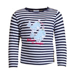 SALT AND PEPPER Baby - Mädchen Sweatshirt Longsleeve Seaside Stripes