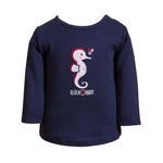 SALT AND PEPPER Baby - Mädchen Sweatshirt Longsleeve Seaside Uni Stick
