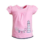 SALT AND PEPPER Baby - Mädchen T-Shirt T-Shirt Seaside Uni Leuchtturm