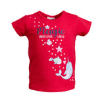 SALT AND PEPPER Baby - Mädchen T-Shirt T-Shirt Seaside Uni Glitterprint