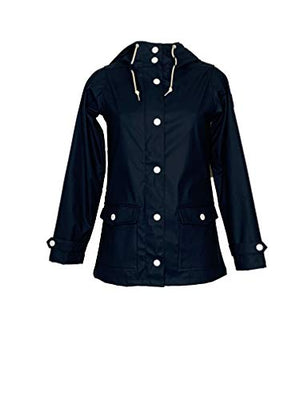 derbe Damen Regenjacke Peninsula Fisher Jacke Navy
