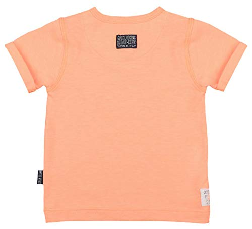Feetje Cooles T-Shirt in Neon Orange mit Front Print Mr. Good Looks 0534