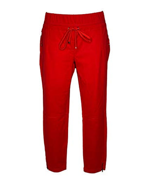 Buena Vista Lorena 7/8 Zip Stretch Shinny red
