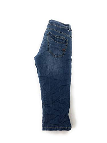 Buena Vista Damen Jeans Malibu-Capri Stretch Denim