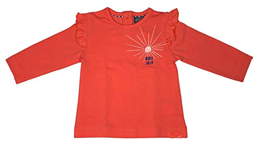 Babyface Baby Mädchen Langarm Shirt 0108602 in rot, Colour Lollypop