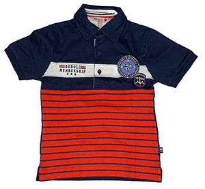 Boboli Junge Poloshirt Nautical Adventure 739403, Navy