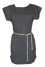 SHISHA T-Shirt-Dress Ringel navystriped