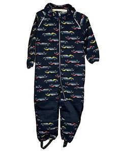NAME IT Softshellanzug NMMALFA Suit CAR Waterproof, Windproof (110)