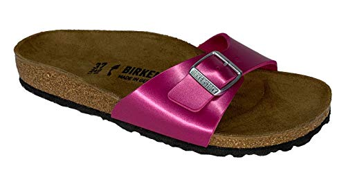 BIRKENSTOCK Pantolette Madrid Electric metallic Magenta 1013950