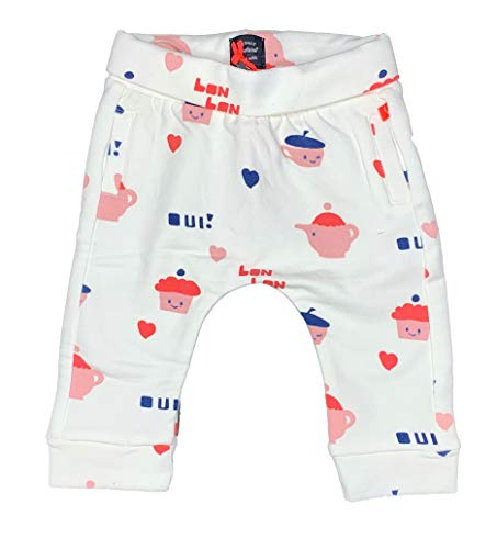 Babyface New Born Girls Sweatpant Hose 0128204, Fb. Off White