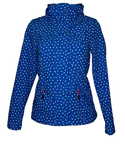 Blutsgeschwister wild Weather Petite Anorak Dot and Anchor Softshell Damen