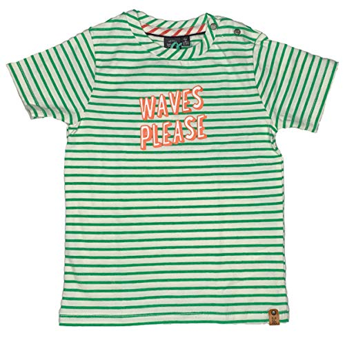 Babyface Baby Junge T-Shirt kurz Waves Please 01707645, fluor Green