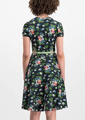 Blutsgeschwister Damen Kleid mze kze Dress vagabund Flowers