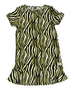 Indian Blue Jeans Girls Zebra Dress IBG20-5101