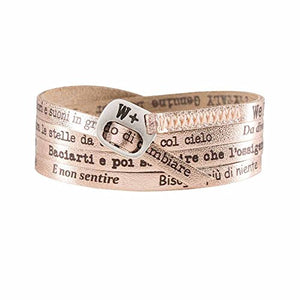 We Positive SPECIAL BLACK FRIDAY 20% OFF ARMBAND MY SONG FOR ANNALISA UNA FINESTRA TRA LE STELLE COL. ROSA MY417