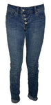 Buena Vista Damenjeans Malibu Stretch Denim, middle blue