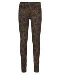 Indian Blue Jeans Girls Snake Print Jazz Super Skinny Fit IBG22-2141